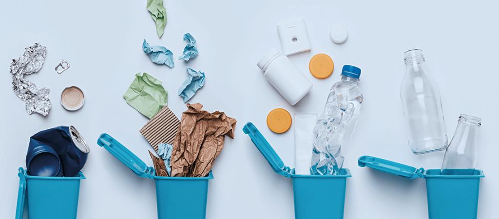 Lixos recicláveis